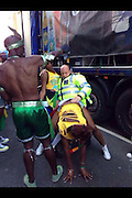 """EXCLUSIVE<br /> A Met Police Officer seems to be getting a bit to carried away with a dancer at the Notting Hill Carnival this week<br /> """"Jade Jones who took the image said i cant believe what i saw <br /> he was really getting carried away stimulating a sex move""""<br /> the image was taken behind a truck on Monday<br /> ©Exclusivepix"""