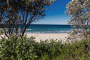 General views of Mollymook Beach, Ulladulla, NSW Australia.