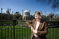 JAMES BOARDMAN / 07967642437.Green Party Parliamentary Candidate for Brighton Pavilion Caroline Lucus..