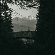 Box canyon at Mount Rainier National Park, WA