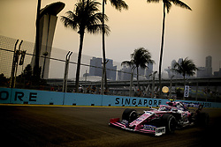 September 20, 2019, Singapore, Singapore: Motorsports: FIA Formula One World Championship 2019, Grand Prix of Singapore, ..#18 Lance Stroll (CAN, Racing Point F1 Team) (Credit Image: © Hoch Zwei via ZUMA Wire)