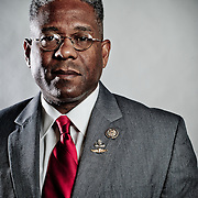 Rep. Allen West (R-FL) poses for a portrait in his Capitol Hill office on Tuesday, Feb. 7th, 2012 in Washington. (Photo by Jay Westcott/Politico)