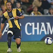 Ahmad Elrich in action during the AFC Champions League group H match between Central Coast Mariners (Australia) and Kawasaki Frontale (Japan) at Gosford Stadium, Australia on April 08, 2009. Kawasaki won the game 5-0.  Photo Tim Clayton