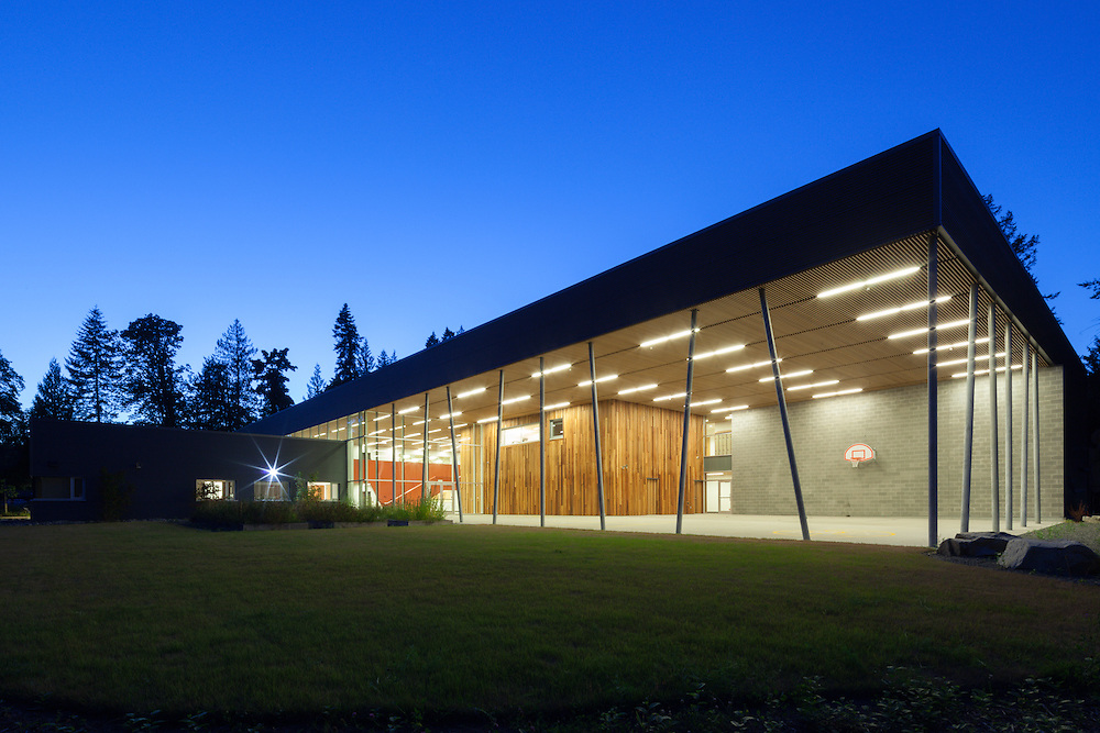 Stz'uminus Secondary School, Chemainus First Nation, Vancouver Island, British Columbia | David Nairne + Associates | 2012