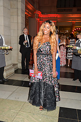FLORENCE OTEDOLA aka DJ Cuppy at the Revlon Choose Love Masquerade Ball held at the V&A Museum, Cromwell Road, London on 21st July 2016.