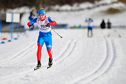 MINNEGULOV Rushan, RUS at the 2014 IPC Nordic Skiing World Cup Finals - Middle Distance
