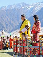 Prince Jigme Of Bhutan Visits Haa & Gasa