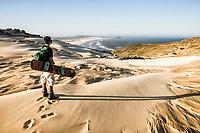 Dunes of Cape of Santa Marta and Cardoso Beach in the background. Laguna, Santa Catarina, Brazil. / <br /> Dunas do Cabo de Santa Marta e Praia do Cardoso ao fundo. Laguna, Santa Catarina, Brasil.
