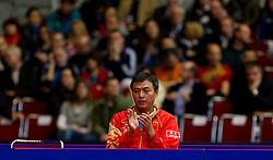 27.02.2011, Westfalenhalle Dortmund, GER, Tischtennis, German Open, im Bild Trainer von Ma Lin (CHN), EXPA Pictures © 2011, PhotoCredit: EXPA/ A. Neis