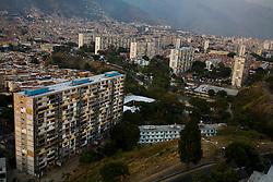 The hillside slums of 23 de Enero, a politically active neighborhhod in Caracas that has been traditionally Chavista.