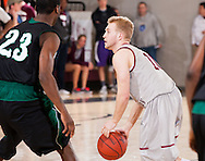 February 16, 2012: The University of Science and Arts of Oklahoma Drovers play against the Oklahoma Christian University Eagles at the Eagles Nest on the campus of Oklahoma Christian University.