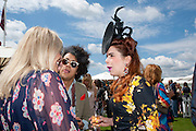 KIERA PARKS; JOSH WELLER; PALOMA FAITH, Cartier International Polo. Guards Polo Club. Windsor Great Park. 25 July 2010. -DO NOT ARCHIVE-© Copyright Photograph by Dafydd Jones. 248 Clapham Rd. London SW9 0PZ. Tel 0207 820 0771. www.dafjones.com.