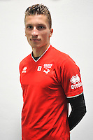 Mathieu MICHEL - 16.09.2014 - Photo officielle Nimes - Ligue 2 2014/2015<br /> Photo : Icon Sport