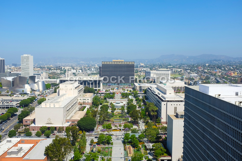 Downtown Los Angeles Seen From City Hall