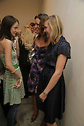 Gemma Brocken, Louise Roe and The curator: Di Poole, The Living Is Easy - private view . Flowers East, 82 Kingsland Road, London, E2, Mixed photography exhibition. 10 August 2006. ONE TIME USE ONLY - DO NOT ARCHIVE  © Copyright Photograph by Dafydd Jones 66 Stockwell Park Rd. London SW9 0DA Tel 020 7733 0108 www.dafjones.com