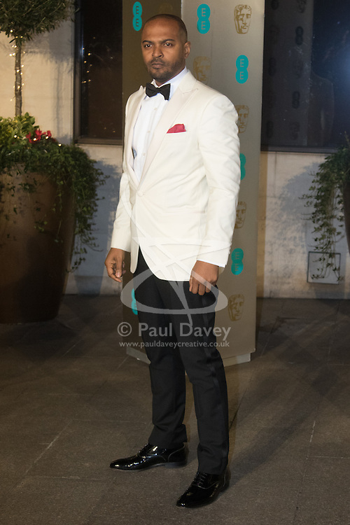 Photo Must Be Credited ©Alpha Press<br /> Noel Clarke arrives at the EE British Academy Film Awards after party dinner at the Grosvenor House Hotel in London.