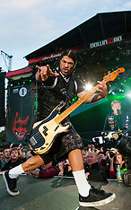 Metallica headline Download Festival 2012