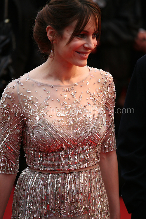 Audrey Dana at the red carpet for the gala screening of Jimmy P. Psychotherapy of a Plains Indian film at the Cannes Film Festival 18th May 2013
