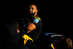 Sione Vailanu of Wasps - Mandatory by-line: Robbie Stephenson/JMP - 18/11/2019 - RUGBY - Broadstreet Rugby Football Club - Coventry , Warwickshire - Wasps Squad Photo