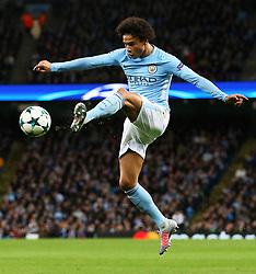 Leroy Sane of Manchester City - Mandatory by-line: Matt McNulty/JMP - 17/10/2017 - FOOTBALL - Etihad Stadium - Manchester, England - Manchester City v Napoli - UEFA Champions League Group F