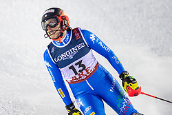 08.02.2019, Aare, SWE, FIS Weltmeisterschaften Ski Alpin, alpine Kombination, Slalom, Damen, im Bild Federica Brignone (ITA) // Federica Brignone of Italy Reacts after the Slalom competition of the ladie's alpine combination for the FIS Ski World Championships 2019. Aare, Sweden on 2019/02/08. EXPA Pictures © 2019, PhotoCredit: EXPA/ Dominik Angerer