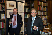 WILLIAM CASH; LORD ASTOR, Book party for 'The Liar's Ball' by Vicky Ward hosted by  Sir Evelyn  de Rothschild at Henry Sotheran's, 2 Sackville Street London. 25 November 2014
