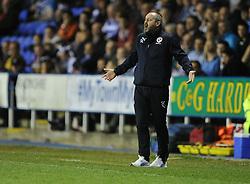 Reading Manager, Steve Clarke reacts. - Photo mandatory by-line: Alex James/JMP - Mobile: 07966 386802 - 14/04/2015 - SPORT - Football - Reading - Madejski Stadium - Reading v AFC Bournemouth - Sky Bet Championship