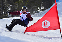 Europa Cup Finals Banked Slalom, SUUR-HAMARI Matti, FIN at the 2016 IPC Snowboard Europa Cup Finals and World Cup