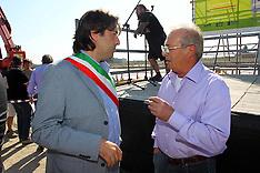 20120922 BRUNO CAVICCHI COL SINDACO DI SANT'AGOSTINO FABRIZIO TOSELLI