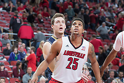 Louisville guard/forward Wayne Blackshear. <br /> <br /> The University of Louisville hosted Notre Dame, Wednesday, March 04, 2015 at Yum Center in Louisville. <br /> <br /> Photo by Jonathan Palmer