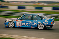 #11 Will Hoy BMW Team Listerine BMW M3 during Round 1of the 1991 British Touring Car Championship at Silverstone, Towcester, Northamptonshire, United Kingdom. 1st April 1991, World Copyright Peter Taylor/PSP. Copy of publication required for printed pictures.