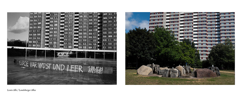 Berlin: After the Wall (1992- ) by photographer Colin McPherson. <br /> <br /> Extract from proposal, November, 2019.