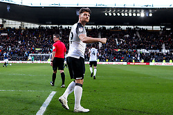 Chris Martin of Derby County celebrates scoring a goal to make it 3-0 - Mandatory by-line: Robbie Stephenson/JMP - 08/03/2020 - FOOTBALL - Pride Park Stadium - Derby, England - Derby County v Blackburn Rovers - Sky Bet Championship