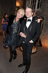 AMANDA ELIASCH and TIM WILLIS at a dinner hosted by Asprey for The Woodland Trust in support of the Jubilee Woods Project, held at Asprey, 167 New Bond Street, London on 22nd November 2012.