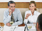 Businesspeople at Restaurant
