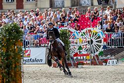 HOUTZAGER-KAYSER Julia (AUT), Sterrehof's Cayetano Z<br /> Münster - Turnier der Sieger 2018<br /> Grosser Preis der Stadt Münster<br /> Wertungsprüfung zur DKB-Riders Tour 4. Etappe<br /> 26. August 2018<br /> © www.sportfotos-lafrentz.de/Stefan Lafrentz