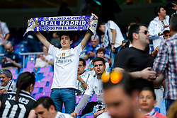 Real Madrid fans - Mandatory byline: Rogan Thomson/JMP - 04/05/2016 - FOOTBALL - Santiago Bernabeu Stadium - Madrid, Spain - Real Madrid v Manchester City - UEFA Champions League Semi Finals: Second Leg.