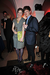 SOPHIE ELLIS-BEXTOR and RICHARD JONES at a fashion show & party to celebrate the launch of the Vanessa G label held at the Banqueting Hall, Whitehall, London on 23rd March 2011.