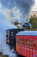 Mount Washington Cog Railway's steam engine.