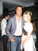 Nigel Barker & Hofit Golan.Unik's Edeyo Foundation Benefit..Private Residence..Bridgehampton, Long Island, USA.Saturday, July 12, 2008.Photo By Celebrityvibe.com.To license this image please call (212) 410 5354; or Email: celebrityvibe@gmail.com ;.website: www.celebrityvibe.com
