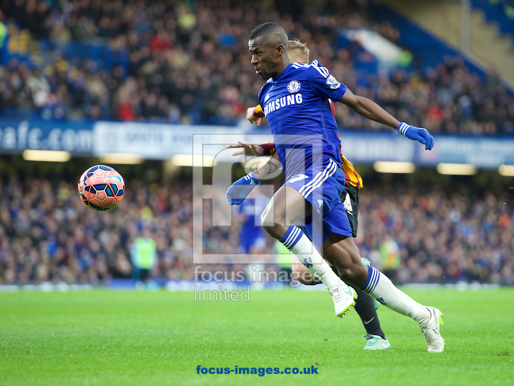 Ramires of Chelsea during the FA Cup match at Stamford Bridge, London<br /> Picture by Alan Stanford/Focus Images Ltd +44 7915 056117<br /> 24/01/2015
