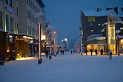 Kiruna, Lapland, Sweden, is the northernmost city in Sweden