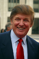 Jan. 1, 1980 - New York, New York, U.S. - K30586JBB.NBC  UPFRONT 2003-2004.AT  LINCOLN  CENTER, NEW YORK New York 05/12/2003.  /   2003.DONALD  TRUMP(Credit Image: © John Barrett/ZUMA Wire)