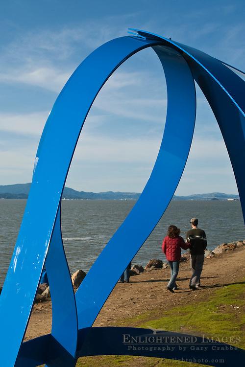 Public Art at Cesar Chavez City Park, Berkeley Waterfront, Alameda County, California