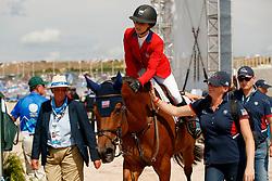 Sternlicht Adrienne, USA, Cristalline<br /> World Equestrian Games - Tryon 2018<br /> © Hippo Foto - Sharon Vandeput<br /> 23/09/2018