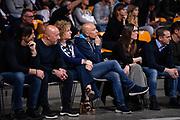 Presidente Dinamo Banco di Sardegna Sassari, Presidente Brescia, Sardara<br /> Pallacanestro Cantu' - Basket Leonessa Brescia<br /> Basket Serie A LBA 2018/2019<br /> Desio 07 April 2018<br /> Foto Mattia Ozbot / Ciamillo-Castoria