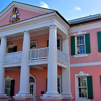 Senate Building in Nassau, Bahamas<br />