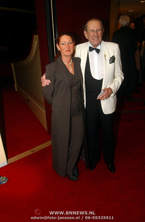 Premiere Marlene Dietrich Leiden, Joop Doderer en vrouw Esther