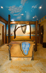 Dali Bedroom at the Artist Inn Washington DC