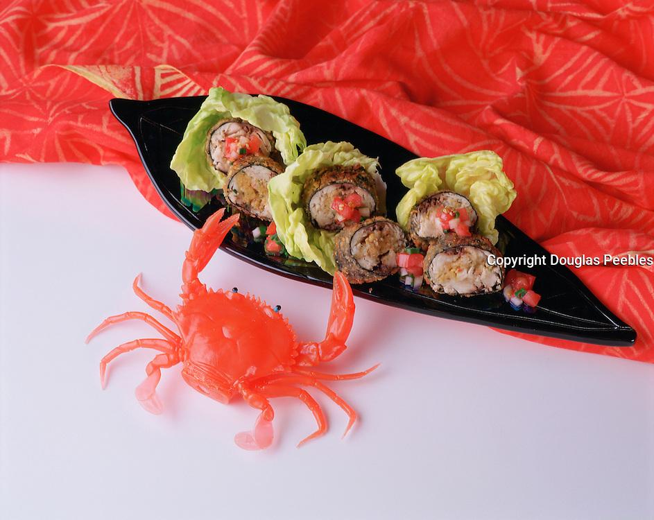 Crab sushi<br />